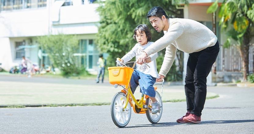 自転車の乗り方、誰に教えてもらいましたか?—リプレット基金事業財団