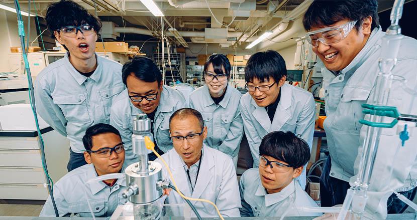 持続可能な社会のために科学にできることは?—愛媛大学大学院理工学研究科 野村信福教授
