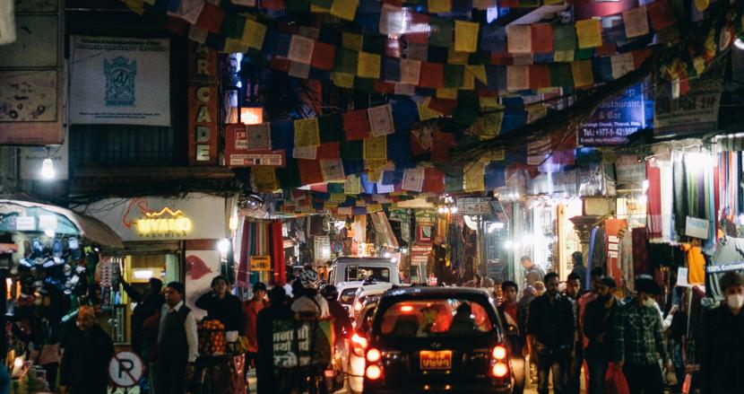 5色の旗に彩られた街カトマンズ【連載】世界の都市をパチリ (17)