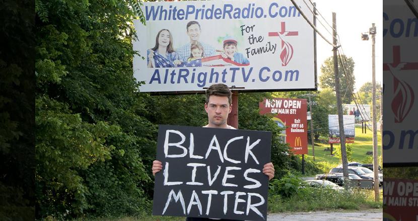 KKKの本拠「アメリカで最も人種差別主義の街」でBlack Lives Matter運動を行ってみたら、予想外の展開に