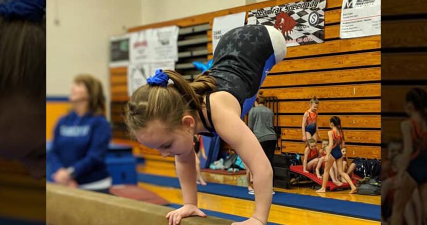 両足なしで生まれてきた8歳少女、体操選手として次々と偉業を達成「人生で起こることは何でも克服できます」