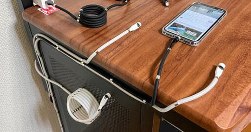これは便利。磁石の力でスッキリ使える充電ケーブル「Magic Cable」に新モデルが登場