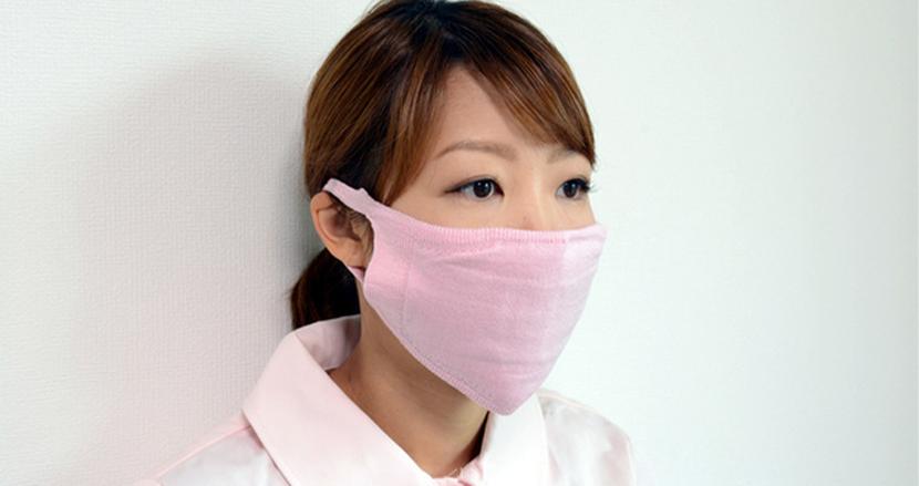 繰り返し洗って使える「抗菌マスク」に支援金1500万円突破。銅繊維の除菌力を活かす