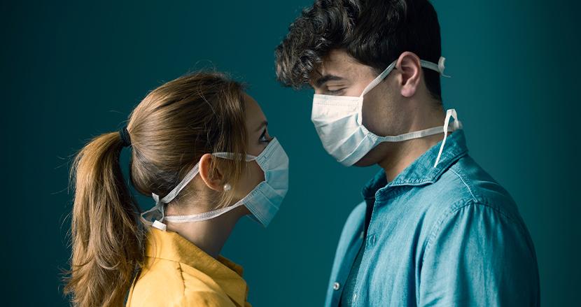 性交渉中もマスクを着用するべき!新型コロナ対策で、ハーバード大学の研究チームが衝撃の発表