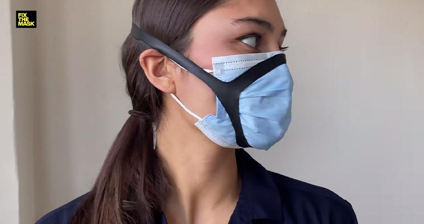 マスクのフィルター効果をアップさせる画期的ゴムバンドを、Appleの元エンジニアらが開発