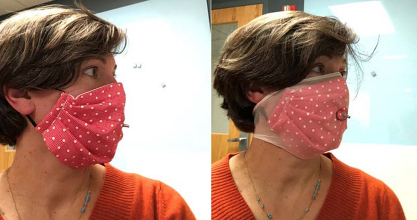 布マスクのフィルター効果を、大幅アップさせる画期的な方法が話題に。マスクの横からの空気の漏れを防ぐ