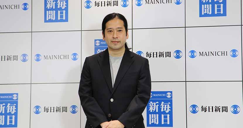 【記者会見】又吉直樹、初の新聞連載小説『人間』を9月から毎日新聞夕刊でスタート!執筆中もお笑いと両立