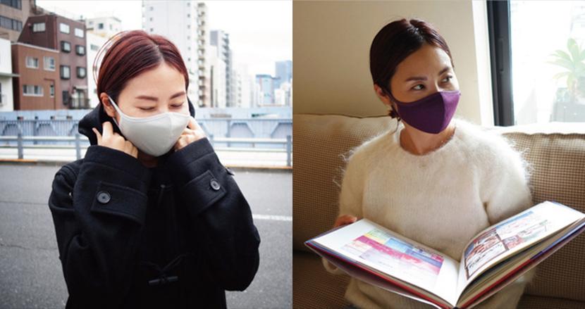 寒い冬に向けて発熱機能を備えた冬用マスクはいかが?その秘密は希少素材「メリノ・オプティモウール」にあり