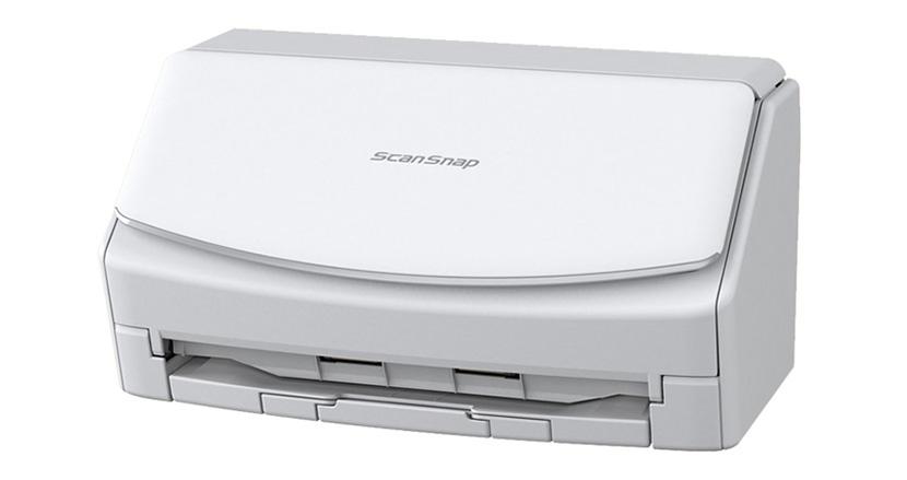 直感的に使える大型タッチパネルを搭載したドキュメントスキャナ「ScanSnap iX 1500」