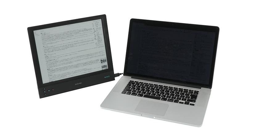 セカンドディスプレイに最適なE-inkディスプレイ「Paperlike HD」