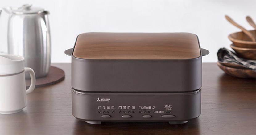 パン焼き窯から取り出した「焼きたて食パン」を再現する食パン専用トースター「ブレッドオーブン」