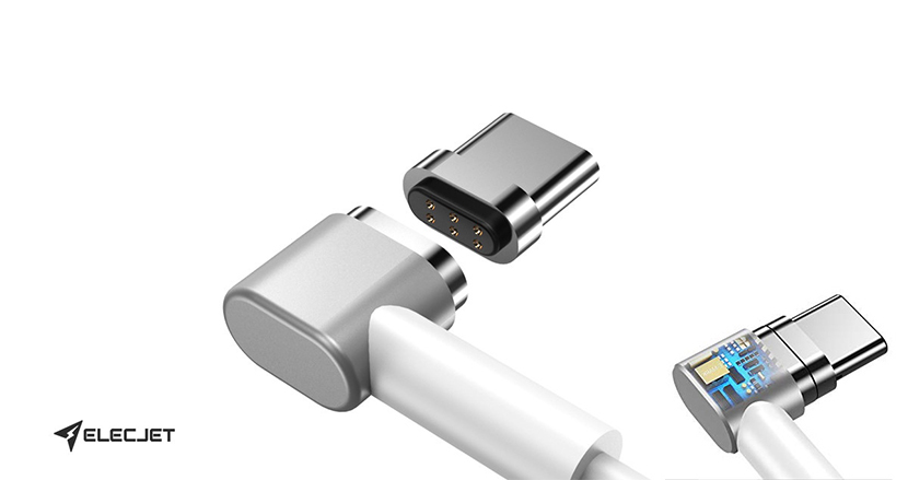 USB-C充電のApple製品をMagSafe化してくっつけられる!マグネティックUSB-Cケーブル「MagJet」