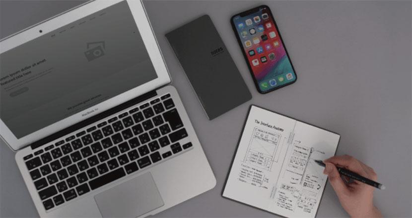 何度も使える携帯ホワイトボード「バタフライボード」に手帳サイズが登場