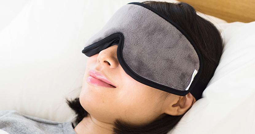 心地よい眠りに誘ってくれる睡眠専用アイマスク「スリープマスク」