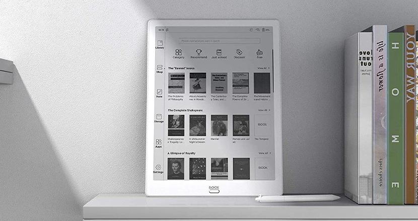 EInk搭載でセカンドディスプレイとしても使えるモノクロタブレット「BOOX-Max 3」