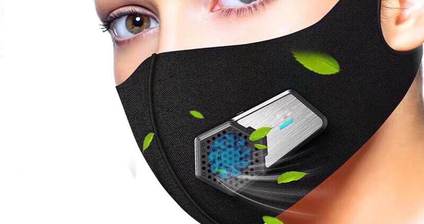 マスクの蒸れを解決し、安全で快適な夏を過ごそう。どんなマスクにも取り付けられるマスク専用扇風機「エアーバブル風扇」