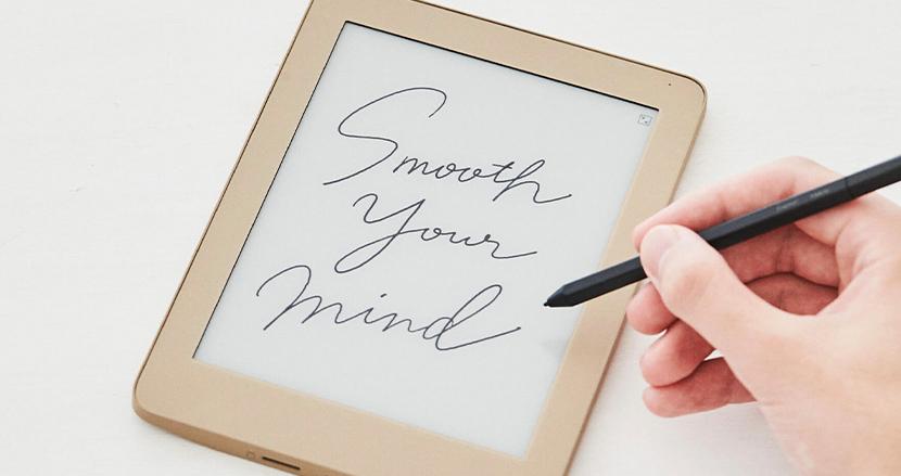 4096段階の筆圧検知で紙さながらの書き心地を実現したデジタルメモ「フリーノ」