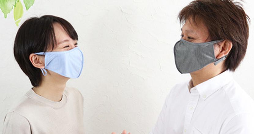 シルクの肌触りとアジャスターで暑い日でも快適さキープ!夏向けマスク「シルク息楽マスク」