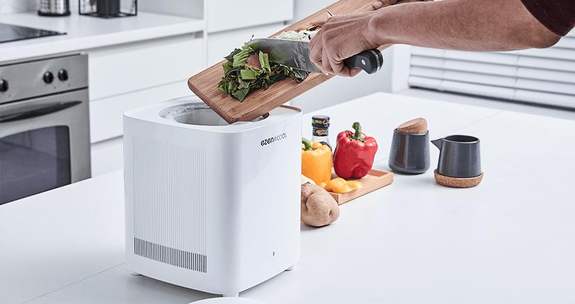 夏場の「生ゴミ悪臭」は冷却で解決!マイナス10度で生ゴミを保管できるゴミ処理機「EZEN COOL」
