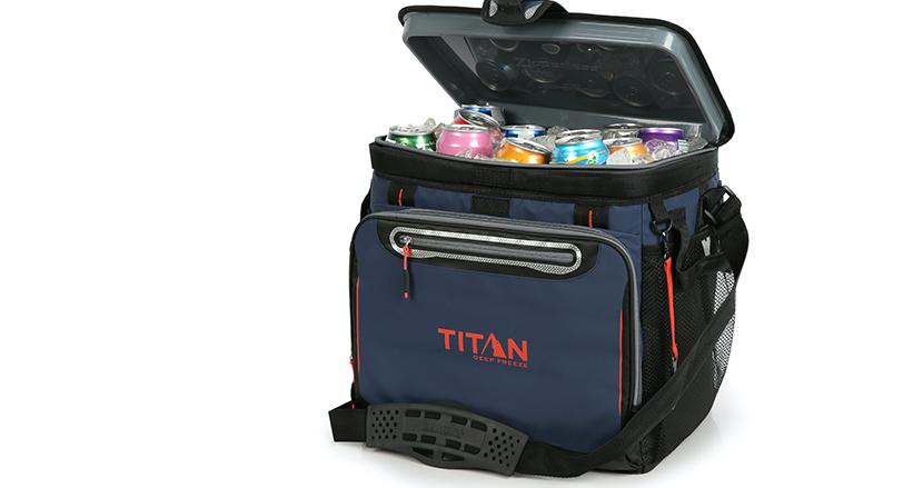 中の氷を3日間もキープ!圧倒的保冷力で世界一売れているクーラーバッグ「TITAN DEEP FREEZE」