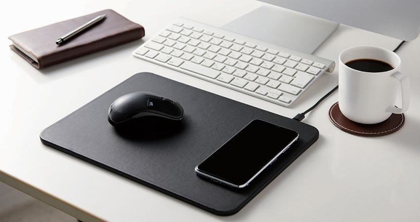 スマホのワイヤレス充電に対応したマウスパッド「MP-WQ01」シリーズ