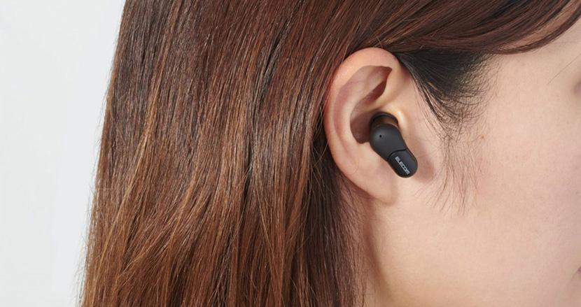 「手軽で意外にいい音」が体験できるエレコムの完全ワイヤレスヘッドフォン「LBT-TWS02BK」