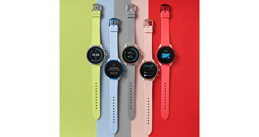 防水+心拍センサー搭載のカラフルでスタイリッシュなスマートウォッチ「FOSSIL Sport Smartwatch」