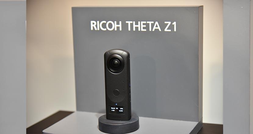 1.0型センサーと有機ELパネルを搭載した360度カメラのフラッグシップ機「RICOH THETA Z1」が登場