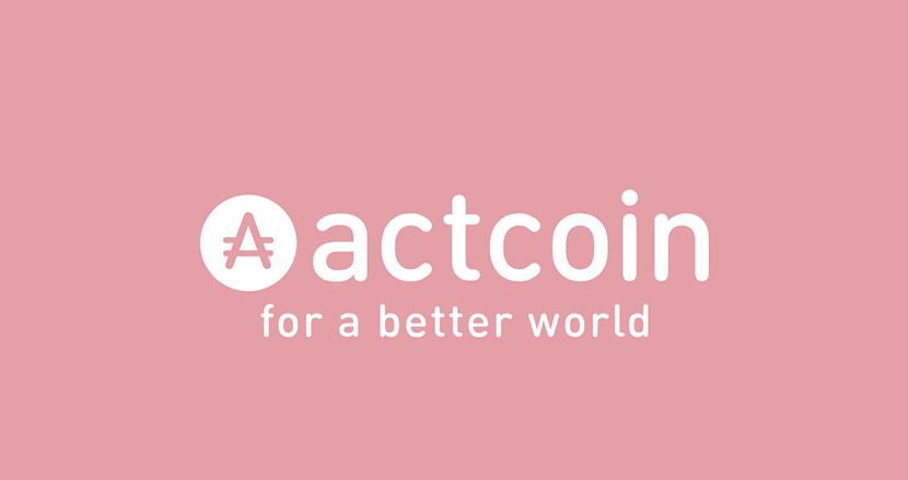 個人の社会貢献活動を可視化し、独自トークンを付与する「actcoin」
