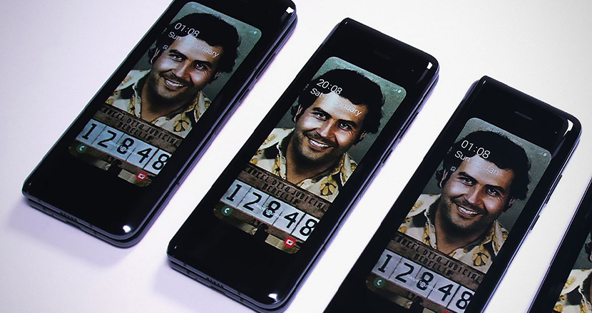 麻薬王の名を持つ過激な折りたたみスマホ「Escobar Fold 2」に困惑