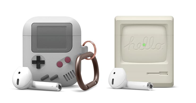 ゲームボーイ、Old Mac、iPod...日本でも流行るか?キャッチーなAirPods充電ケースカバー