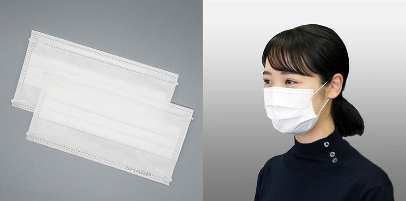 購入 シャープ マスク