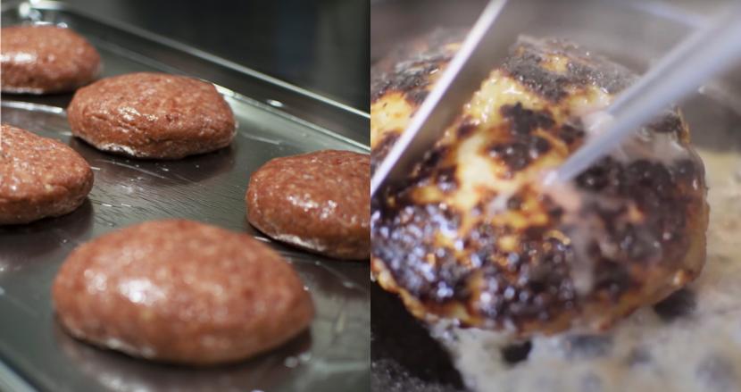 想像以上の肉汁が溢れ出す「肉汁マグニバーグ」で日本初展開の紅牛を救う!クラファンで支援受付中