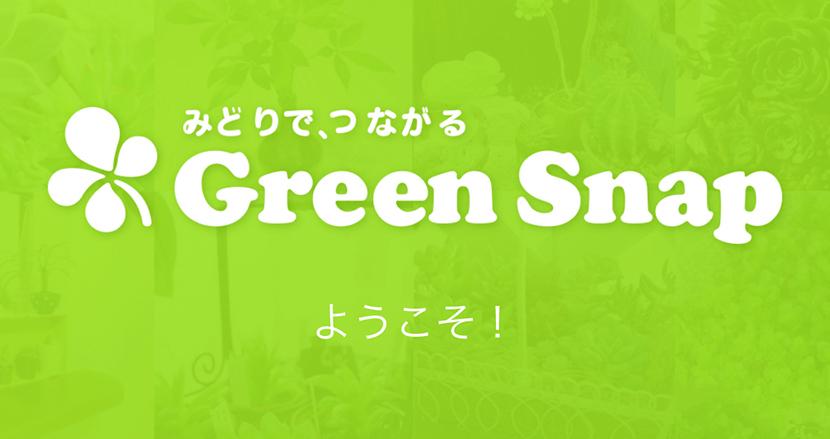 花、果物などをAIが判定して教えてくれる植物コミュニティアプリ「GreenSnap」