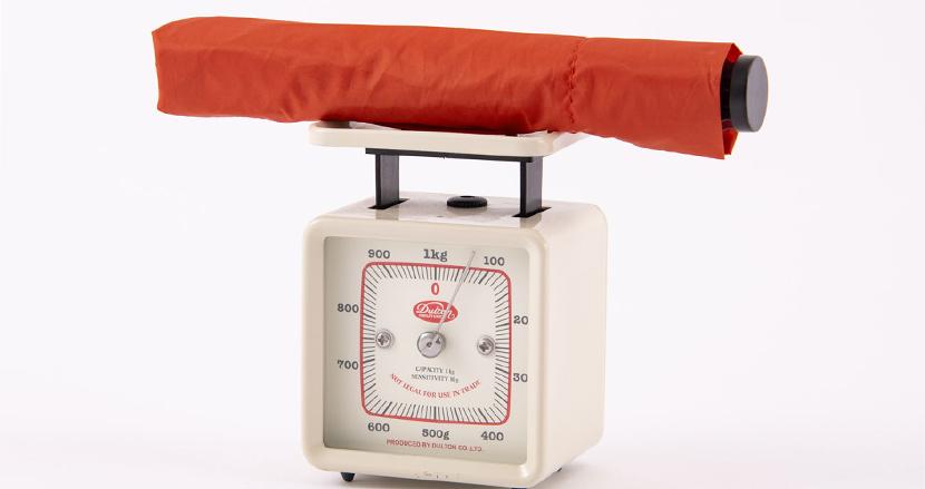 「世界で一番軽い折りたたみ傘」驚きの67g。持ち運びのストレスは限りなくゼロへ