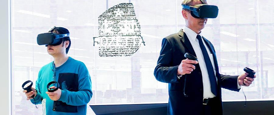 仮想空間で取材!本社機能をVR空間に移転したロゼッタが提唱する「働き方のネクストステージ」
