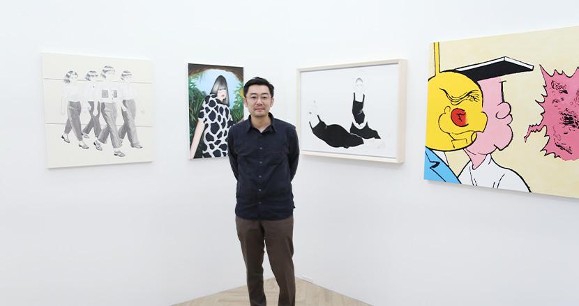 AIがキュレーションしたアートを企業のオフィスに。老舗ギャラリー出身者が立ち上げた「ArtScouter」