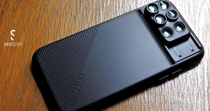 iPhoneケースとカメラレンズが一体化。一瞬でレンズが変えられる「SHIFTCAM2.0」