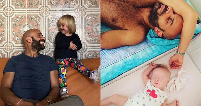 20家族に断られたダウン症の赤ちゃん、同性愛者の男性が引き取りシングルファーザーに