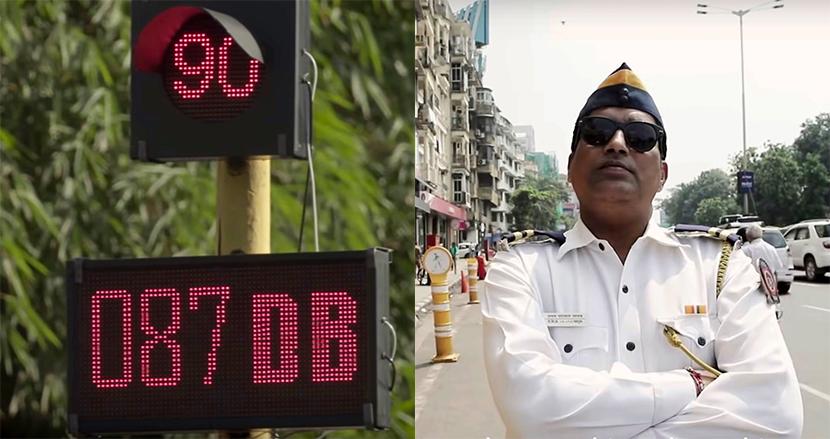 クラクションを鳴らすと、赤信号の待ち時間が延長!騒音問題に挑むインド警察のユニークな挑戦状