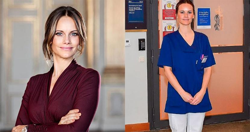 スウェーデンのソフィア妃、医療現場の最前線に!新型コロナに立ち向かうべく、ボランティア活動