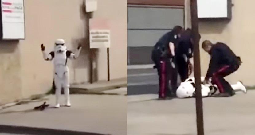 「スター・ウォーズ」のコスプレをしていた19歳女性。おもちゃの銃を本物と勘違いされ、警察に銃を突きつけられる事態に
