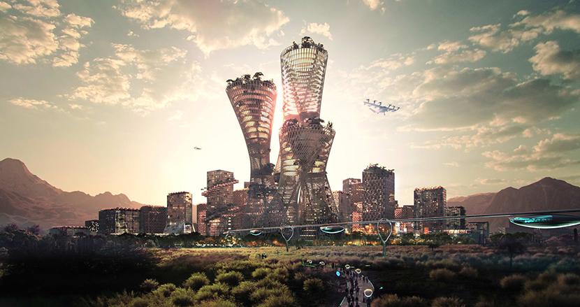 何もない砂漠にゼロから新たな理想都市を建設。米国の億万長者が描くTelosaのビジョン