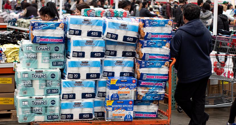 110万円相当のトイレットペーパー等を買い占めた転売ヤー、ネットで売れずに返品に!スーパーが大激怒