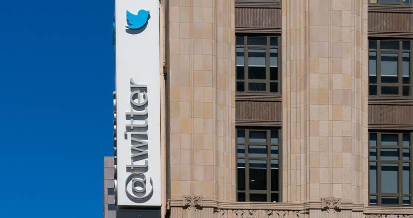 トランプ氏凍結で、Twitter本社前で抗議デモが勃発!? 厳重警備も現れたのは1人だけ