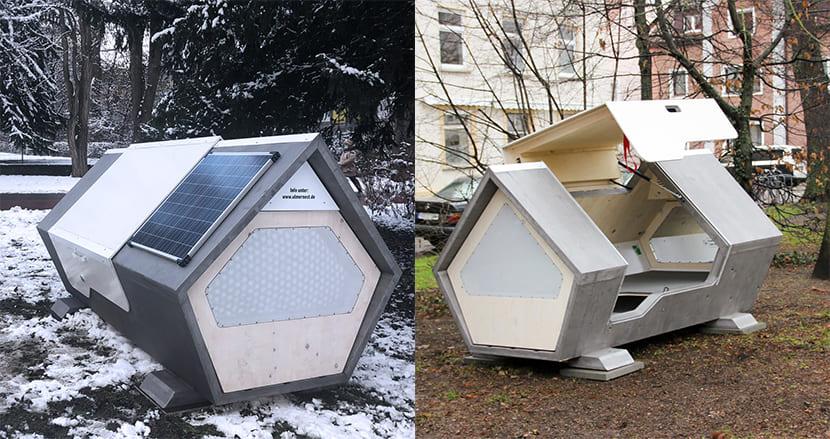 ホームレスに支援の手。真冬の寒さがしのげる睡眠ポッド「ウルマーネスト」がドイツの都市に設置