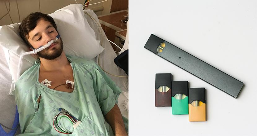 電子タバコ歴1年半の18歳男性、肺年齢が70歳に!メーカーと販売店を提訴