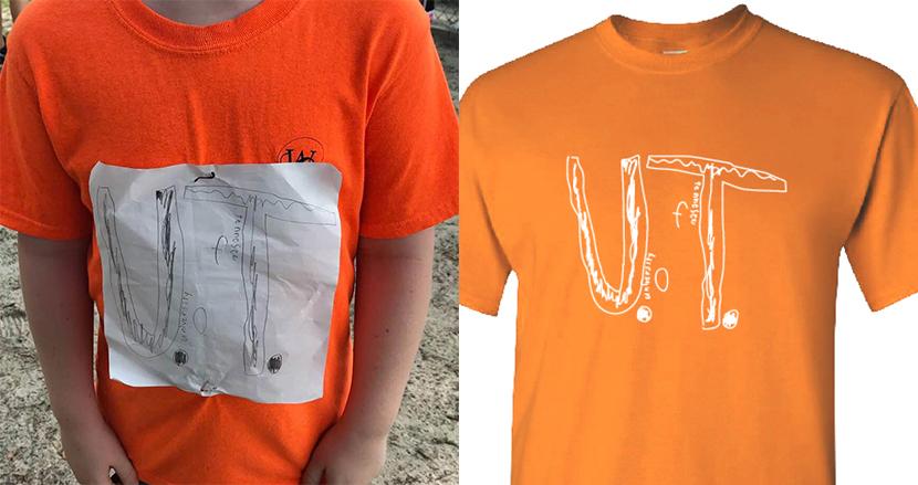 いじめられたアメフトチームの少年ファンの自作Tシャツが、公式のデザインに採用。予約注文5万枚のヒットに
